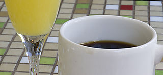 Mimosa-coffee