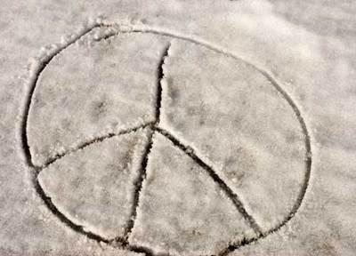 Peacesignsnow
